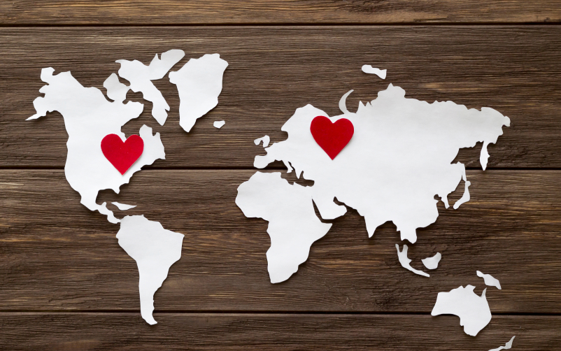 How to Celebrate Valentine's Day in a Long Distance Relationship